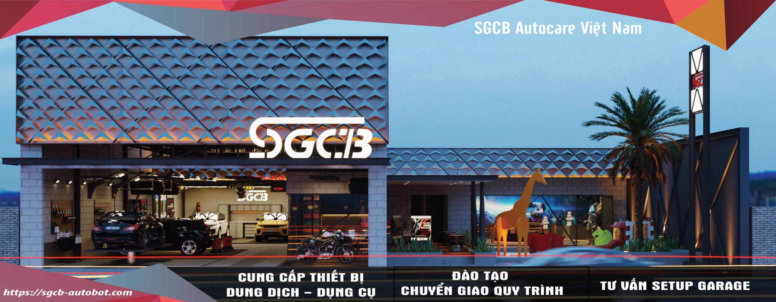 sgcb trung tâm chăm sóc xe chuyên nghiệp tại việt nam